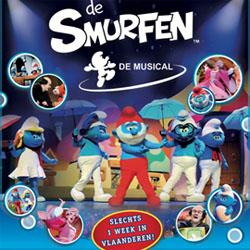 De Smurfen De Musical Maken Hun Musicaldebuut In Belgie Www